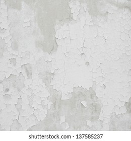 Damaged plaster concrete background wall