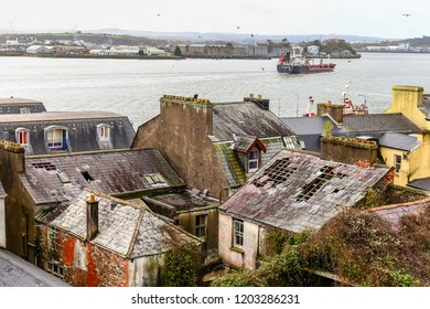 damaged roofs in cobh