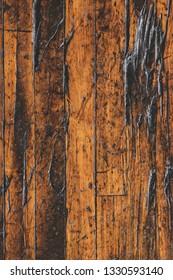 Damaged Wood Floor Background