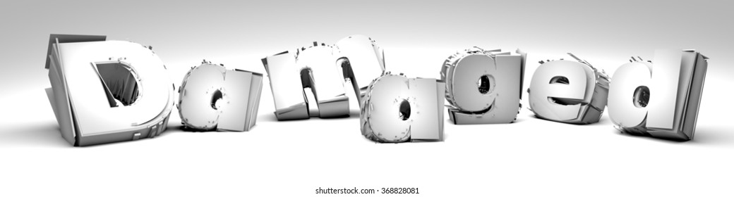 Damaged-Type in 3D