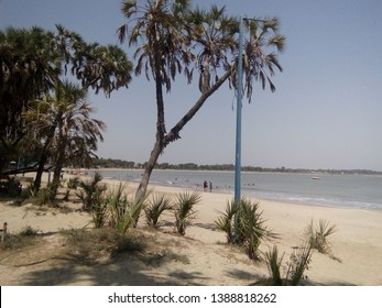 Daman and Diu Beach - Arabian Sea - Gujarat - India