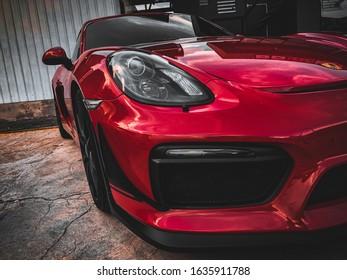 Damansara , Malaysia ,  Porsche Cayman GT4,   24 April