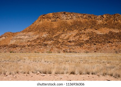 damaraland landscape in namibia africa