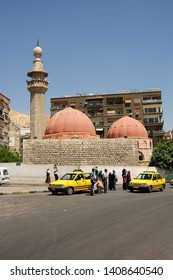 Damascus / Turkey - April 29, 2010: Old mosque in Damascus