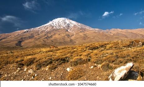 Damavand mountain in Iran