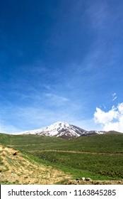 damavand Mountain sky