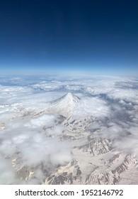 Damavand volcano, Iran. The highest volcano in Eurasia and highest peak ov Iran