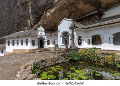 Dambulla is the best preserved rock temple in Sri Lanka