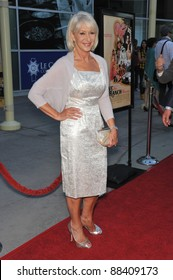 """Dame Helen Mirren at the Los Angeles premiere of her new movie """"Love Ranch"""" at the Arclight Theatre, Hollywood. June 23, 2010  Los Angeles, CA Picture: Paul Smith / Featureflash"""