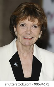 Dame Joan Bakewell  arriving for the Women in Film and TV Awards 2011 at the Park Lane Hilton Hotel, London. 02/12/2011 Picture by: Steve Vas / Featureflash