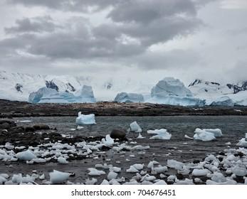 Damoy Point Antarctica Landscape