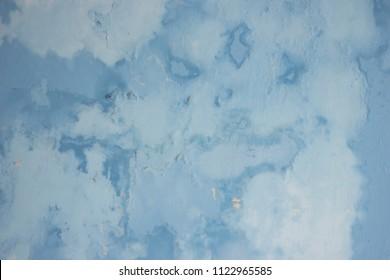 Damp moist wall paint texture