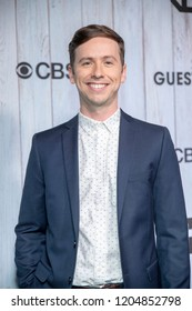 """Dan Beirne attends TBS's """"The Guest Book"""" Season Two Premiere at EP&LP, West Hollywood, California on October 16h, 2018"""