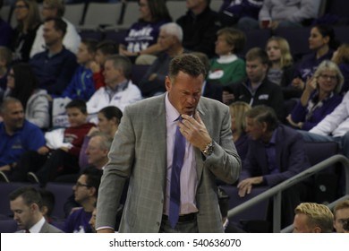 Dan Majerle the head coach of the Grand Canyon University Lopes men's basketball team at GCU Arena in Phoenix,AZ USA December 20,2016.