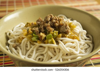 Dan Dan Noodles, the Sichuan classic