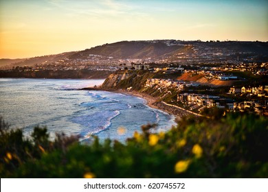 Dana Point California Sunset view
