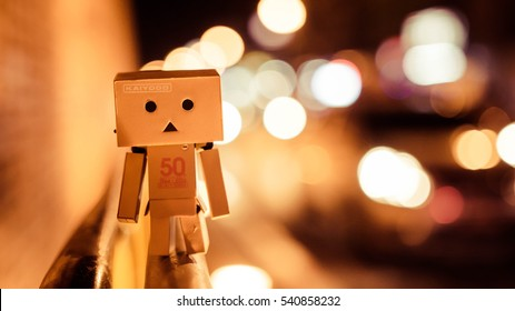 Danbo is lonely