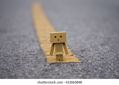 danbo and lonly road. Danbo first appeared in chapter 28 of the manga,first issued in April 2006.The Japanese company Kaiyodo has produced since late 2007.