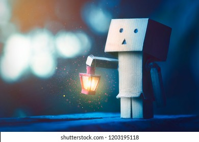 Danbo is looking for hope