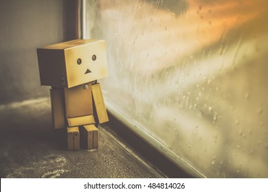 Danboard or danbo and lonely feeling.