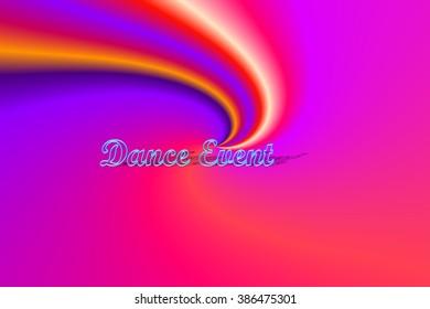 Dance event texture
