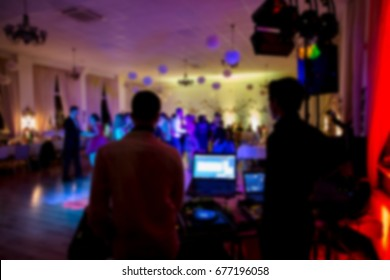 Dance floor, disco lights, party time