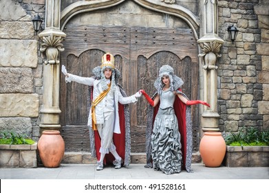 Dance of the King and Queen in the Hall