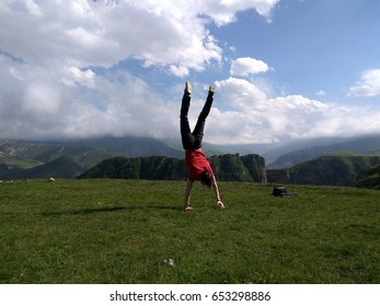dance in mountains