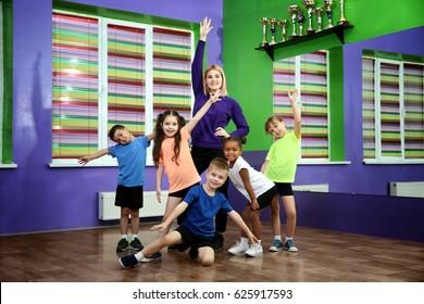 how to teach a dance class to children