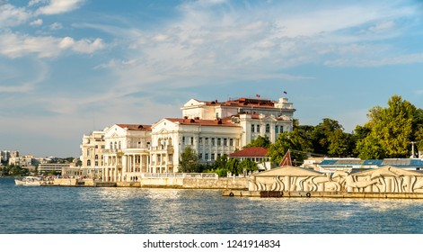 Dance Theater at the seaside of Sevastopol in Crimea