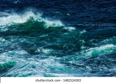 Dance of waves. Somalia coast line.