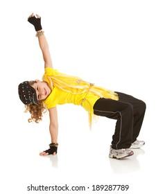 Dance: Young Dancer in Hip Hop Pose