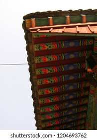 dancheong - Traditional korean architecture roof eaves
