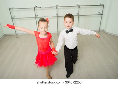 Dancing, ballroom dancing, dance studio, children