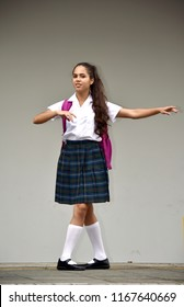 Dancing Catholic Colombian Female Student