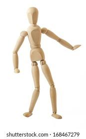 Dancing wooden dummy