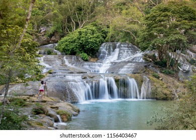 Dang Mo waterfall in Lang Son province, Vietnam