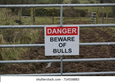 Danger fence.