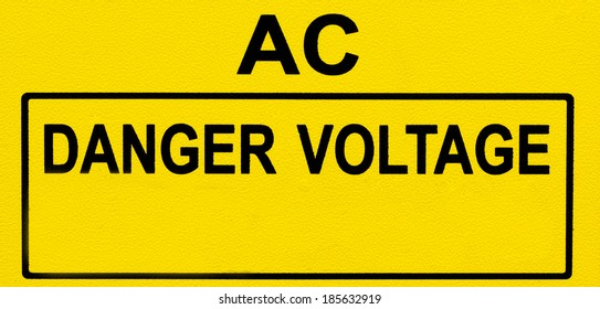 danger voltage