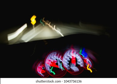 Dangerous driving  at night while intoxicated