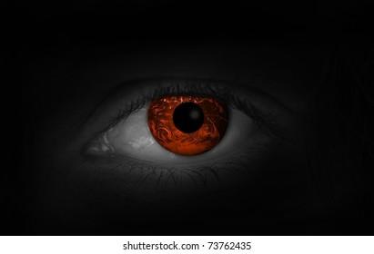 Dangerous eye