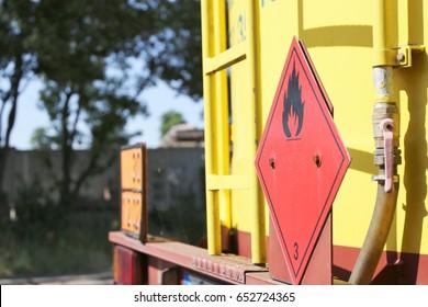 Dangerous goods transport