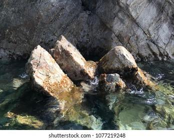 Dangerous Water rocks