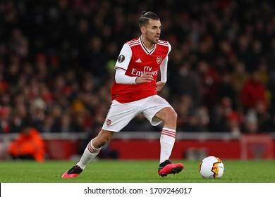 Dani Ceballos of Arsenal - Arsenal v Olympiacos, UEFA Europa League - Round of 32 Second Leg, Emirates Stadium, London, UK - 27th February 2020