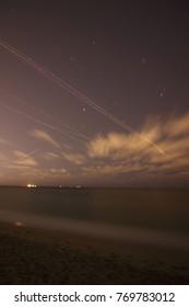 Dania Beach Coastline in Miami Florida