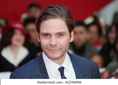 Daniel Bruhlt attends the European film premiere of 'Captain America: Civil War' at Vue Westfield on April 26, 2016 in London, England