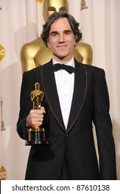 Daniel Day Lewis at the 80th Annual Academy Awards at the Kodak Theatre, Hollywood. February 24, 2008 Los Angeles, CA Picture: Paul Smith / Featureflash