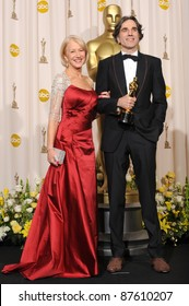 Daniel Day Lewis & Helen Mirren at the 80th Annual Academy Awards at the Kodak Theatre, Hollywood. February 24, 2008 Los Angeles, CA Picture: Paul Smith / Featureflash