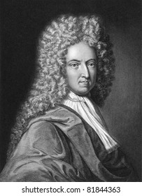 Daniel Defoe (1659-1731). Engraved by J.Thomson and published in The Gallery of Portraits encyclopedia, United Kingdom, 1834.