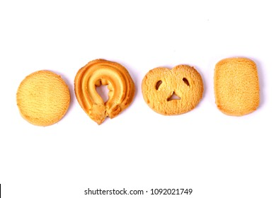 Danish butter cookies, butter cookies